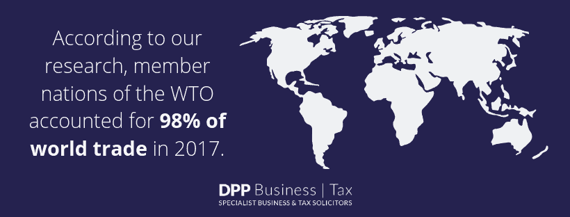 World trade statistics - DPP business & tax
